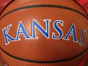 A signed University of Kansas Jayhawks basketball is available. For a complete list of items up for grabs, go to the campaign's website.