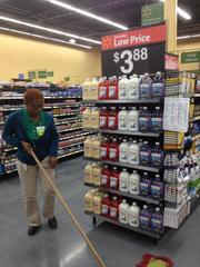 Employees are gearing up for the June 26 opening of the Walmart Neighborhood Market in Downtown South.