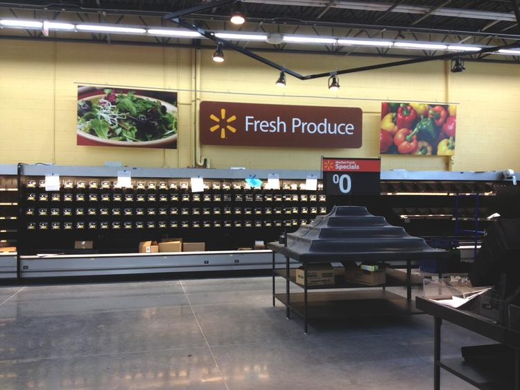 The Walmart Neighborhood Market is opening this week at 5609 Pacific St. in Rocklin.