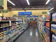 A larger footprint at the new Walmart Neighborhood Market in Downtown South allows for wider aisles.