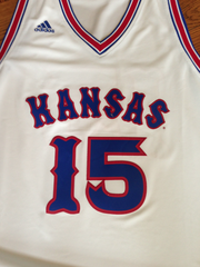 A University of Kansas Jayhawks jersey, signed by Chalmers, who led the team to the 2008 National Championship.  For a complete list of items up for grabs, go to the campaign's website.
