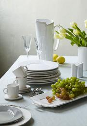 The Lastra dinnerware collection by Vietri