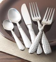 The Martellato stainless flatware collection