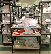 The newly opened Vietri Boutique at Belk SouthPark. Vietri is the largest American importer of Italian hand-crafted dinnerware, table linens, garden accessories and other products.