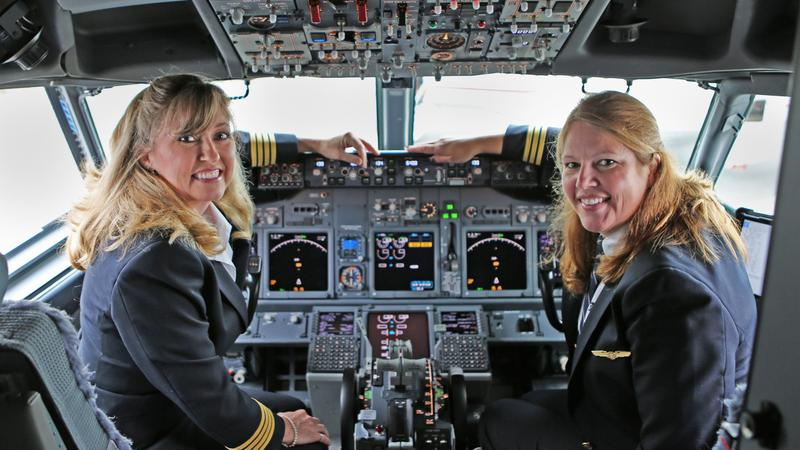 United Airlines Makes A Big Statement About Women In The Cockpit Bizwomen