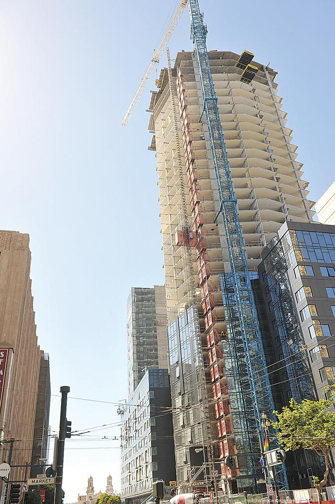The first units will be available in the 24-story south tower.
