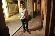 Matt Semmelhack of AQ Restaurant is building out the ground-floor space at 1355 Market St. where he and his partner will open Bon Marché restaurant.