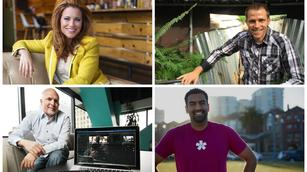 Upstarts to watch: A different kind of billionaire, a fitness fanatic, a microfarmer and more