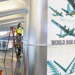 Airport art display tells the Air Capital's story