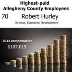 Who are Allegheny County's highest-paid employees?
