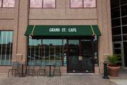 Suzy Hall, vice president of Country Club Trust Co., and Colliers International co-CEOs Ted Murray and Bryan Johnson said Grand Street Cafe has high-quality service, accessibility and a nice atmosphere.