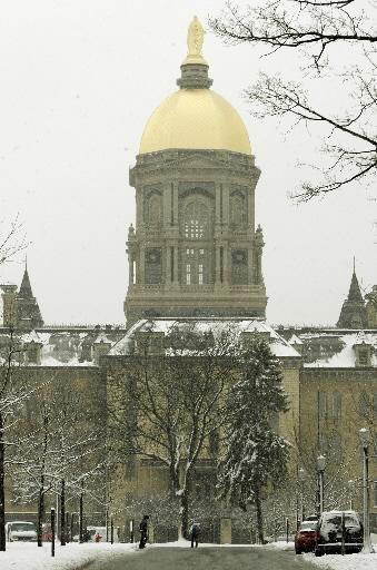 The Golden Dome at the University of Notre Dame is a striking visual, but does the school have a unique, evocative smell?