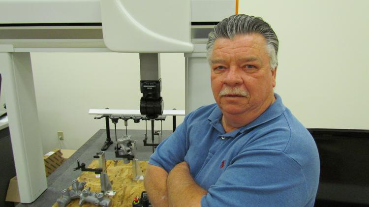 Dave Delph is president and co-owner of Advanced Industrial Measurement Systems in Miamisburg. Delph plans to take the measurement and inspection market by storm with a new line of machines.