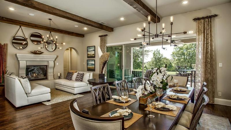 Taylor morrison launches crowdsourcing campaign for model home designs phoenix business journal for Interior design model homes pictures