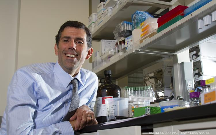 Charles Magness, president and CEO of Kineta, a biotech company, is photographed in Seattle, Wash.