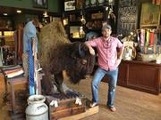 CBJ finance editor Adam O'Daniel caught up with Xan Hood, founder of Buffalo Jackson Trading Co., to get to the bottom of why he has a buffalo in the newly opened downtown Matthews store.