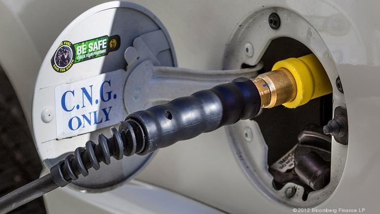 Compressed natural gas, electricity, and biofuels are among the alternative energy sources for cars that energy execs discussed at an automotive energy summit Wednesday at Reliant Center.