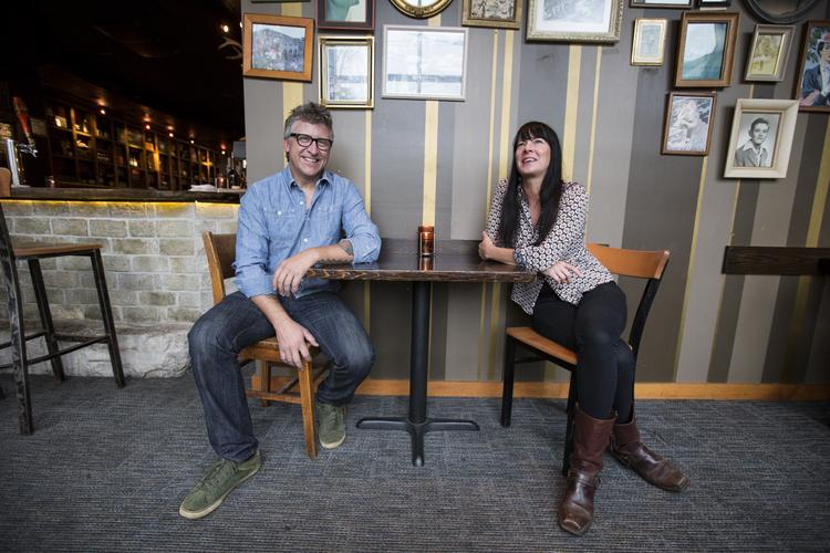 Scott Johnson and Leslie Montemurro (above) are co-owners, along with Kristyn St. Denis, of BelAir Cantina in Wauwatosa.