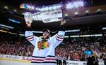 Blackhawks fans stayed with Game 6 all the way to victory