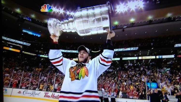 Could Chicago Blackhawks captain Jonathan Toews be on the way to helping his team win the Stanley Cup for the third time in four years?