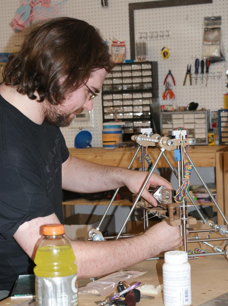 """Groups like Wichita's MakeICT give crafters and tinkerers a place to create their own objects with tools like 3-D printers and soldering irons. The """"maker movement"""" is among the trends disrupting more traditional businesses."""