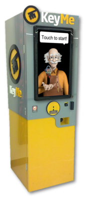 KeyMe promises its kiosks will securely hold digital designs of keys, and will create new copies if an owner get locked out.