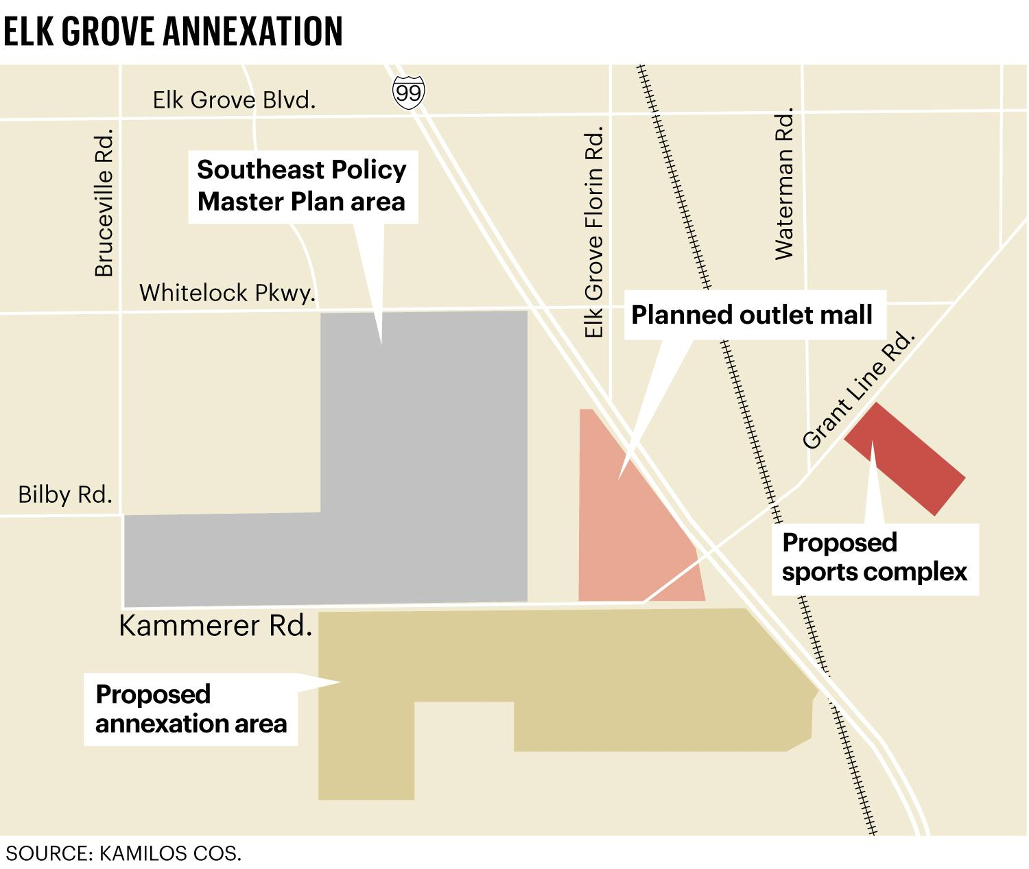 Elk Grove Takes First Step Toward 1,200-acre Annexation