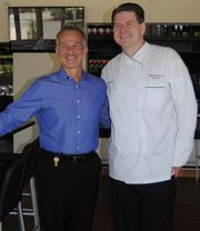 Marlow's Tavern partner Alan Palmieri, left, and Executive Chef/co-founder John Metz Jr., were on hand to meet with guests on the grand opening day.