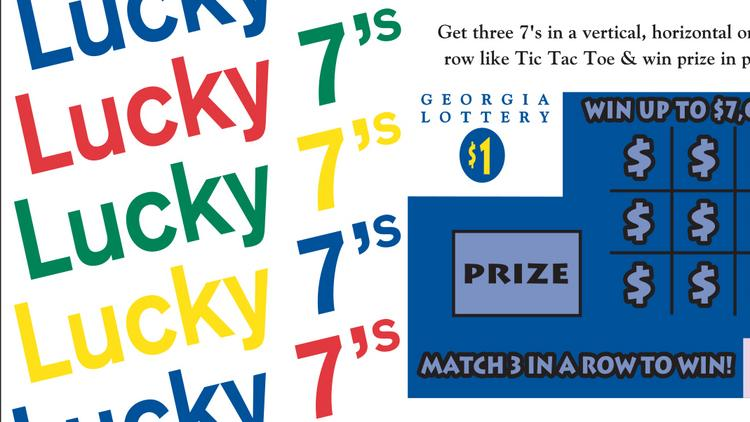 August 17, 1993: Lucky 7's -- Launched during the Georgia Lottery's first year. It is still on sale and remains the longest-running instant game.