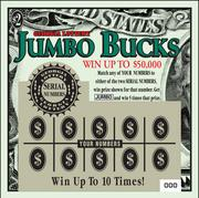 March 12, 1996: Jumbo Buck -- The first of the Jumbo Bucks family. Total sales since inception for the Jumbo Bucks family have surpassed $8.5 billion with 17 different games.