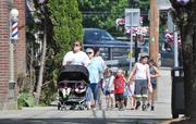 Two-thirds of Main Street's businesses reopened following Tropical Storm Irene.