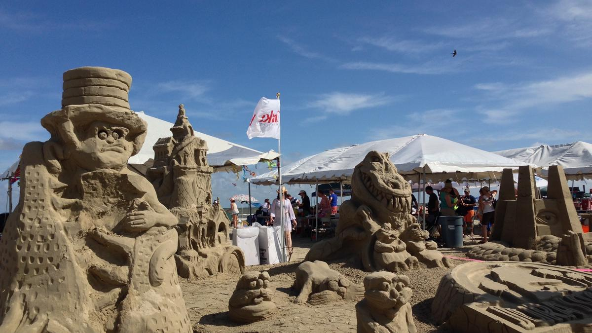 Aia Houston Names Kirksey Gensler Dow Chemical Sandcastle Competition Winners Houston