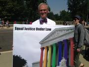 U.S. Rep. Earl Blumenauer, D-Oregon, showing his support.