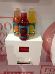 Target Corp. was offering samples of products that are part of its new line of organic foods, called Simply Balanced.