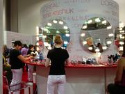 Target offered beauty consultations to conference goers. The retailer is expanding its beauty concierge program.