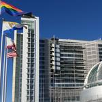Rainbow Flag rises over San Jose City Hall in honor of <strong>Gay</strong> Pride Month (Photos)