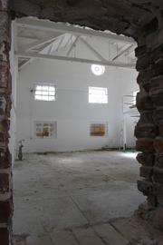 The future Ulele's kitchen area in the former Water Works building.