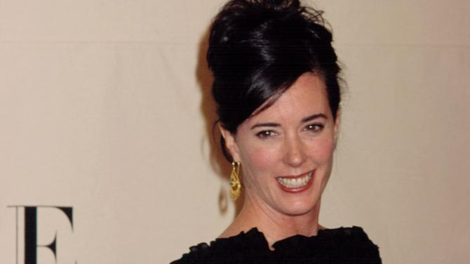 Photo of Kate Spade and her 2018 clean make up style, products & tips