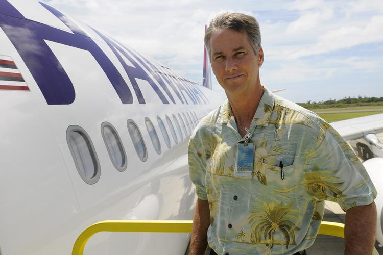 Keoni Wagner, who's been Hawaiian Airlines' spokesman for some 25 years, is leaving the company this week.