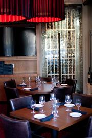 The restaurant in West Ave at 2800 Kirby Drive has two dining areas, a bar and a patio.