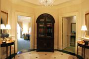 The foyer of the Presidential Suite at the Nemacolin Woodlands Resort, 1001 Lafayette Drive, Farmington.