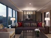 The most expensive hotel room or suite in the Pittsburgh region is the Presidential Suite at the Fairmont Pittsburgh, which is $4,000 a night. Located on the top floor of the hotel, with views of Mount Washington and Monongahela River.