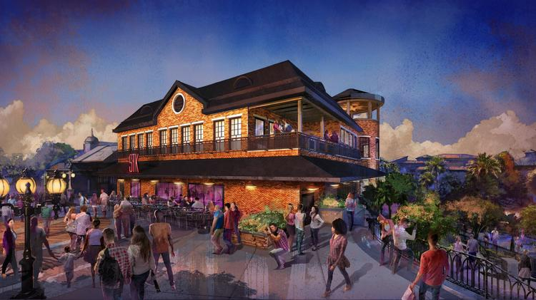 The Stk Orlando Restaurant At Disney Springs In On Schedule To Open Spring 2016