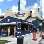 The TBBJ 'I Spy' puzzle this week was Yeoman's Cask & Lion