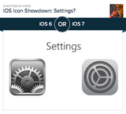 #1 most-hated app design: Settings  Apple ditched the familiar gears icon against a polka-dotted background for concentric rings that are supposed to look industrial. Instead, they look (at least to this author) like a Venus flytrap, or maybe the opening to the Sarlacc pit on Tatooine. Of the 4,818 people who voted on Polar, 67.1 percent preferred the old design.
