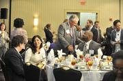 Attendees gather for lunch at the CBJ's Multicultural Business Owners Forum.