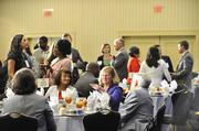 Multicultural Business Owners Forum gather for lunch.