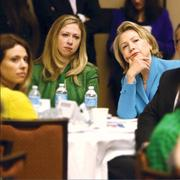 "CBJ Seen: Charlotte entrepreneur Sandy Marshall, far left, sat down with Chelsea and Hillary Clinton during a strategy session about girls and women in education during the Clinton Global Initiative conference in Chicago earlier this month. Marshall recently launched her own social-impact consulting agency, Sandra Marshall & Associates, as well as a local nonprofit, Project Scientist, to help empower girls with a passion for science, technology, engineering and math.Want to have your company's events featured in CBJ Seen? Submit them to Alison Angel at aangel@bizjournals.com for consideration. Be sure to include caption information, and put ""CBJ Seen"" in the subject line."
