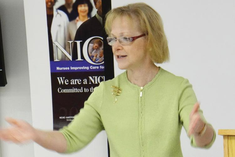 North Carolina DHHS Secretary Aldona Wos also oversees the NC FAST program.