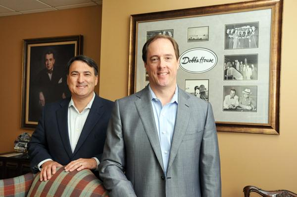 Christopher Crosby and Edward Dobbs at Dobbs Management Service, which is expanding its Memphis offices.